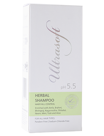 Herbal Hair Fall Control Shampoo box